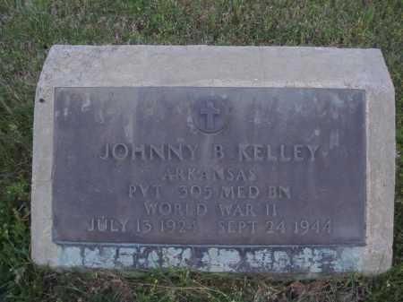 KELLEY  (VETERAN WWII), JOHNNY B. - Washington County, Arkansas | JOHNNY B. KELLEY  (VETERAN WWII) - Arkansas Gravestone Photos