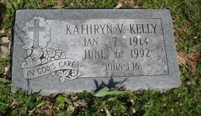 KELLY, KATHRYN V. - Washington County, Arkansas | KATHRYN V. KELLY - Arkansas Gravestone Photos
