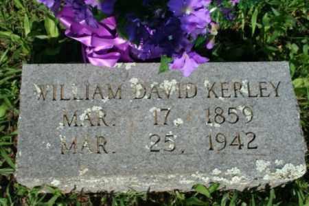 KERLEY, WILLIAM DAVID - Washington County, Arkansas | WILLIAM DAVID KERLEY - Arkansas Gravestone Photos
