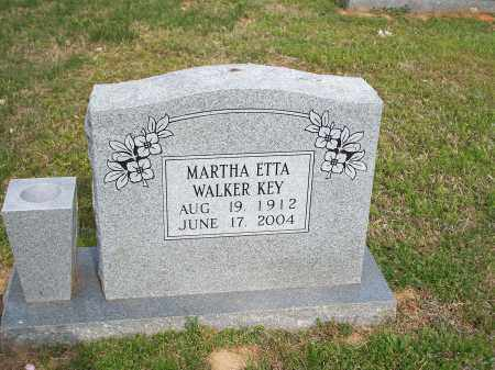 WALKER KEY, MARTHA ETTA - Washington County, Arkansas | MARTHA ETTA WALKER KEY - Arkansas Gravestone Photos