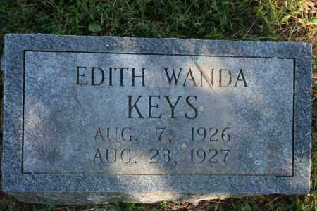 KEYS, EDITH WANDA - Washington County, Arkansas | EDITH WANDA KEYS - Arkansas Gravestone Photos