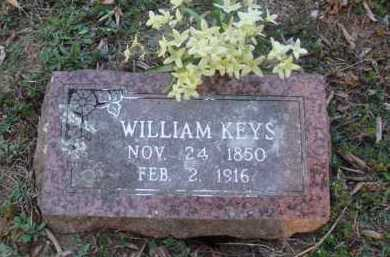 KEYS, WILLIAM - Washington County, Arkansas | WILLIAM KEYS - Arkansas Gravestone Photos