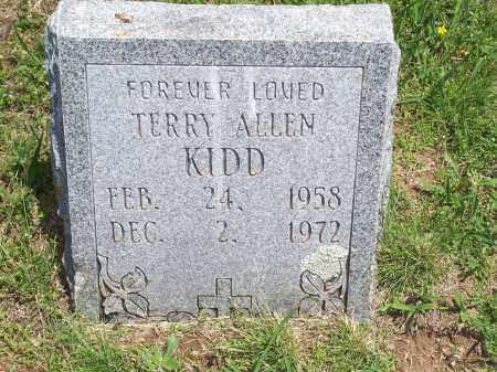 KIDD, TERRY ALLEN - Washington County, Arkansas | TERRY ALLEN KIDD - Arkansas Gravestone Photos
