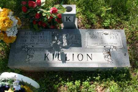 KILLION, BENJAMIN E. - Washington County, Arkansas | BENJAMIN E. KILLION - Arkansas Gravestone Photos
