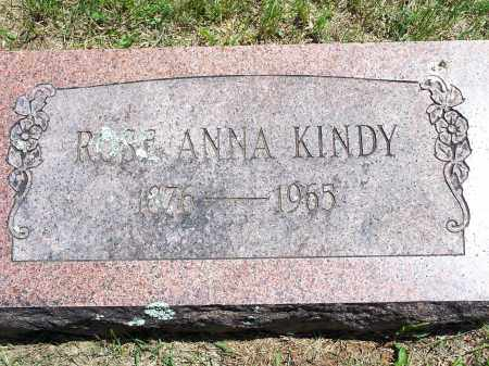 KINDY, ROSE ANNA - Washington County, Arkansas | ROSE ANNA KINDY - Arkansas Gravestone Photos