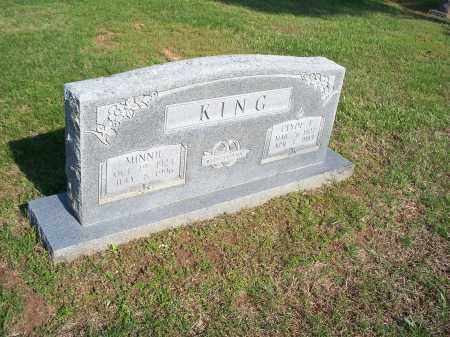 KING, MINNIE - Washington County, Arkansas | MINNIE KING - Arkansas Gravestone Photos