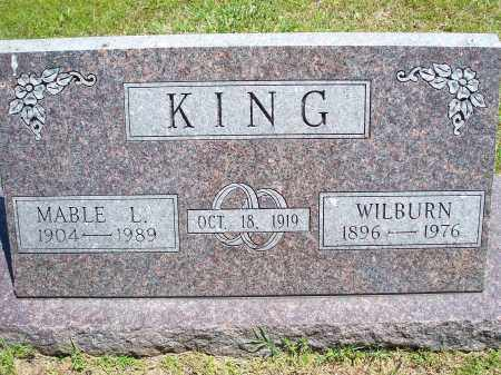 KING, WILBURN - Washington County, Arkansas | WILBURN KING - Arkansas Gravestone Photos
