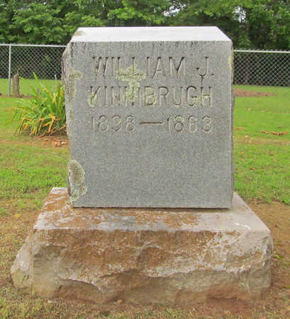 KINNIBRUGH (VETERAN CSA), WILLIAM J - Washington County, Arkansas | WILLIAM J KINNIBRUGH (VETERAN CSA) - Arkansas Gravestone Photos
