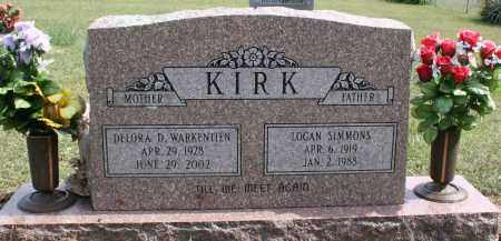 WARKENTIEN KIRK, DELORA - Washington County, Arkansas | DELORA WARKENTIEN KIRK - Arkansas Gravestone Photos