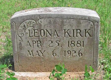 KIRK, LEONA - Washington County, Arkansas | LEONA KIRK - Arkansas Gravestone Photos