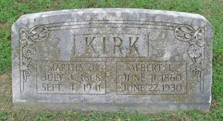 KIRK, ALBERT L - Washington County, Arkansas | ALBERT L KIRK - Arkansas Gravestone Photos