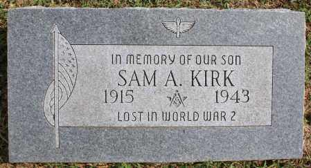 KIRK (VETERAN WWII MIA), SAM A - Washington County, Arkansas | SAM A KIRK (VETERAN WWII MIA) - Arkansas Gravestone Photos