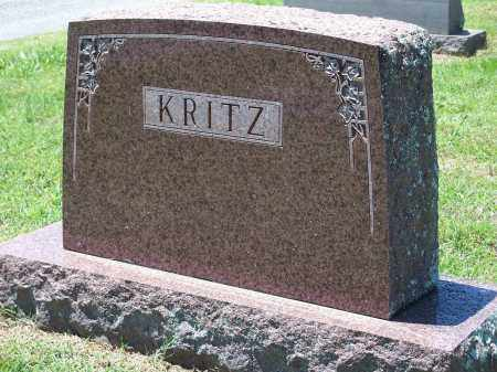 KRITZ, FAMILY MARKER - Washington County, Arkansas | FAMILY MARKER KRITZ - Arkansas Gravestone Photos