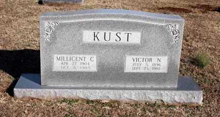 KUST, VICTOR N. - Washington County, Arkansas | VICTOR N. KUST - Arkansas Gravestone Photos