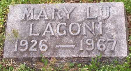 LAGONI, MARY LU - Washington County, Arkansas | MARY LU LAGONI - Arkansas Gravestone Photos