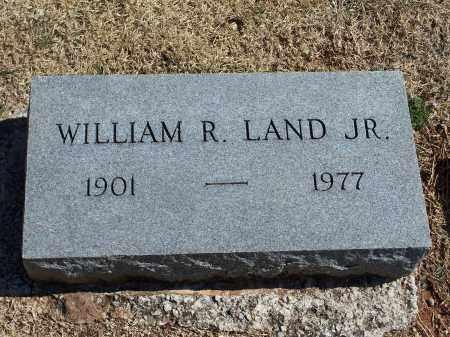LAND JR, WILLIAM R. - Washington County, Arkansas | WILLIAM R. LAND JR - Arkansas Gravestone Photos