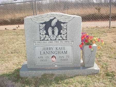 LANINGHAM, JERRY KAYE - Washington County, Arkansas | JERRY KAYE LANINGHAM - Arkansas Gravestone Photos