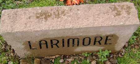 LARIMORE, UNKNOWN - Washington County, Arkansas | UNKNOWN LARIMORE - Arkansas Gravestone Photos