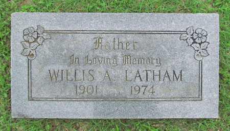 LATHAM, WILLIS A - Washington County, Arkansas | WILLIS A LATHAM - Arkansas Gravestone Photos