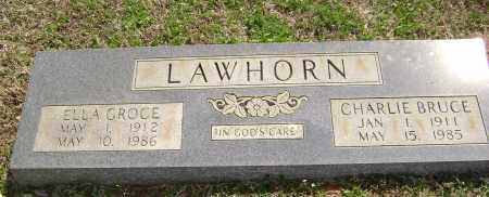 GROCE LAWHORN, ELLA MAE - Washington County, Arkansas | ELLA MAE GROCE LAWHORN - Arkansas Gravestone Photos