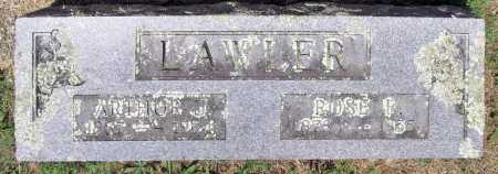 LAWLER, ARTHUR J - Washington County, Arkansas | ARTHUR J LAWLER - Arkansas Gravestone Photos