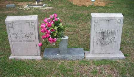 LEE, ROSA JANE - Washington County, Arkansas | ROSA JANE LEE - Arkansas Gravestone Photos
