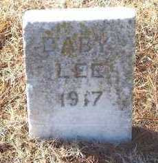 LEE, INFANT - Washington County, Arkansas | INFANT LEE - Arkansas Gravestone Photos