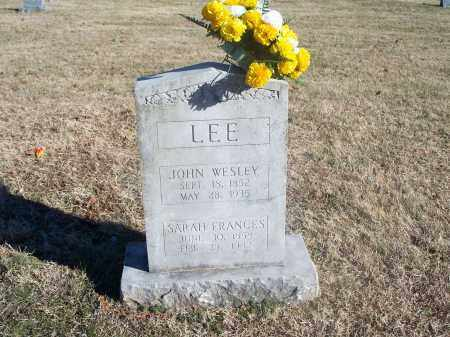 LEE, JOHN WESLEY - Washington County, Arkansas | JOHN WESLEY LEE - Arkansas Gravestone Photos