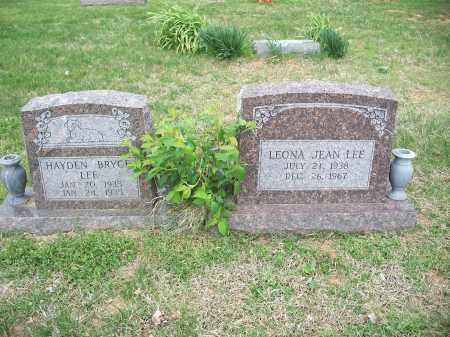 LEE, LEONA JEAN - Washington County, Arkansas | LEONA JEAN LEE - Arkansas Gravestone Photos