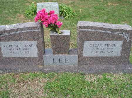 LEE, OSCAR BRYCE - Washington County, Arkansas | OSCAR BRYCE LEE - Arkansas Gravestone Photos