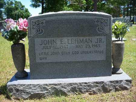 LEHMAN, JOHN EUGENE, JR. - Washington County, Arkansas | JOHN EUGENE, JR. LEHMAN - Arkansas Gravestone Photos
