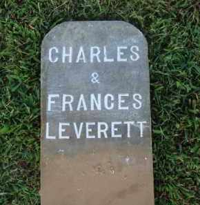 LEVERETT, FRANCES - Washington County, Arkansas | FRANCES LEVERETT - Arkansas Gravestone Photos