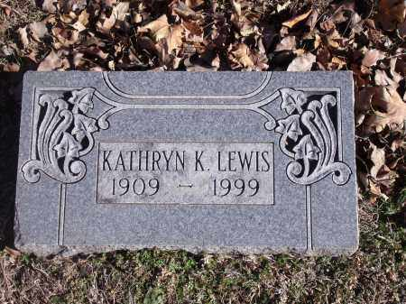 LEWIS, KATHRYN K. - Washington County, Arkansas | KATHRYN K. LEWIS - Arkansas Gravestone Photos