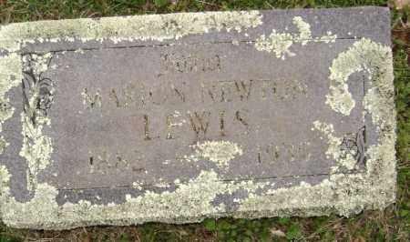LEWIS, MARION NEWTON - Washington County, Arkansas | MARION NEWTON LEWIS - Arkansas Gravestone Photos