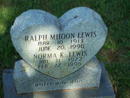 LEWIS, RALPH MHOON - Washington County, Arkansas | RALPH MHOON LEWIS - Arkansas Gravestone Photos