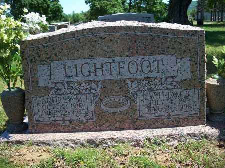 LIGHTFOOT, AUDREY M. - Washington County, Arkansas | AUDREY M. LIGHTFOOT - Arkansas Gravestone Photos