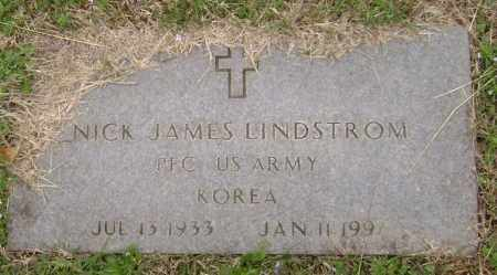 LINDSTROM  (VETERAN KOR), NICK JAMES - Washington County, Arkansas | NICK JAMES LINDSTROM  (VETERAN KOR) - Arkansas Gravestone Photos