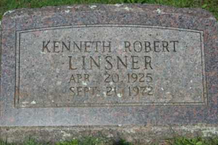LINSNER, KENNETH ROBERT - Washington County, Arkansas | KENNETH ROBERT LINSNER - Arkansas Gravestone Photos