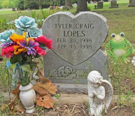 LOPES, TYLER CRAIG - Washington County, Arkansas | TYLER CRAIG LOPES - Arkansas Gravestone Photos