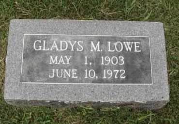 LOWE, GLADYS M. - Washington County, Arkansas | GLADYS M. LOWE - Arkansas Gravestone Photos