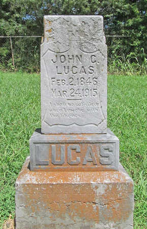 LUCAS, JOHN C - Washington County, Arkansas | JOHN C LUCAS - Arkansas Gravestone Photos