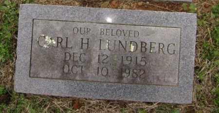 LUNDBERG, CARL HENDRICK - Washington County, Arkansas | CARL HENDRICK LUNDBERG - Arkansas Gravestone Photos