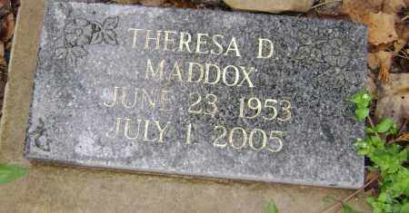 MADDOX, THERESA D. - Washington County, Arkansas | THERESA D. MADDOX - Arkansas Gravestone Photos
