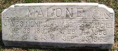 MALONE, MARGARETT RACHEL - Washington County, Arkansas | MARGARETT RACHEL MALONE - Arkansas Gravestone Photos