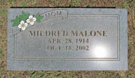 SHEPHERD MALONE, MILDRED - Washington County, Arkansas | MILDRED SHEPHERD MALONE - Arkansas Gravestone Photos