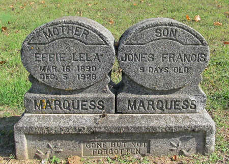 MARQUESS, EFFIE LELA - Washington County, Arkansas | EFFIE LELA MARQUESS - Arkansas Gravestone Photos