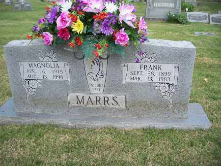 MARRS, FRANK - Washington County, Arkansas | FRANK MARRS - Arkansas Gravestone Photos