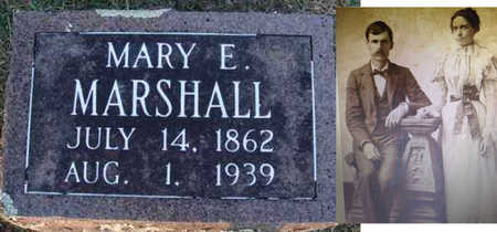 MARSHALL, MARY E. - Washington County, Arkansas | MARY E. MARSHALL - Arkansas Gravestone Photos