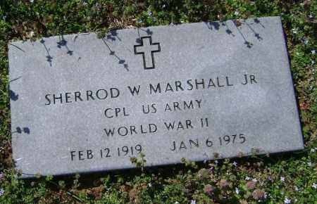 MARSHALL (VETERAN WWII), SHERROD WILLIAM JR - Washington County, Arkansas | SHERROD WILLIAM JR MARSHALL (VETERAN WWII) - Arkansas Gravestone Photos