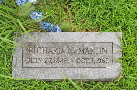 MARTIN, RICHARD N - Washington County, Arkansas | RICHARD N MARTIN - Arkansas Gravestone Photos